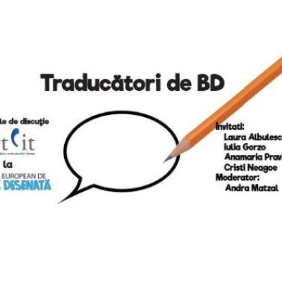 Atelierele de discuție Artlit: Traducători de BD