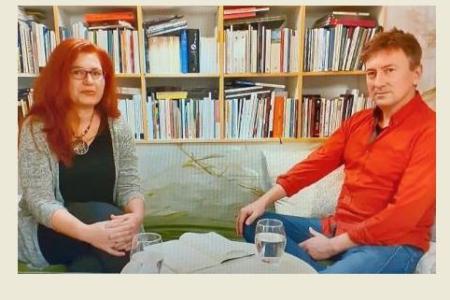 Mirela Iacob în dialog cu Philip Ó Ceallaigh